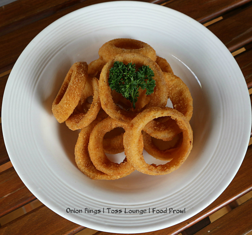 Onion Rings - TOSS Lounge