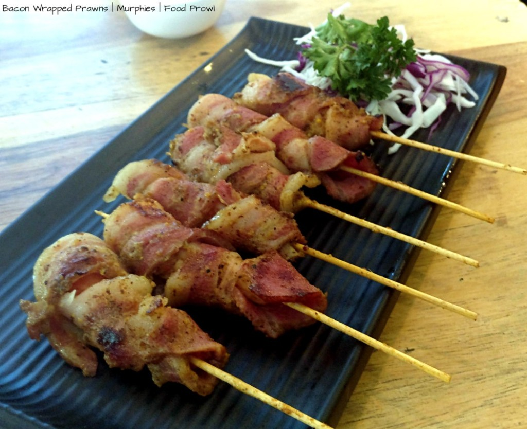 09 Bacon Prawns