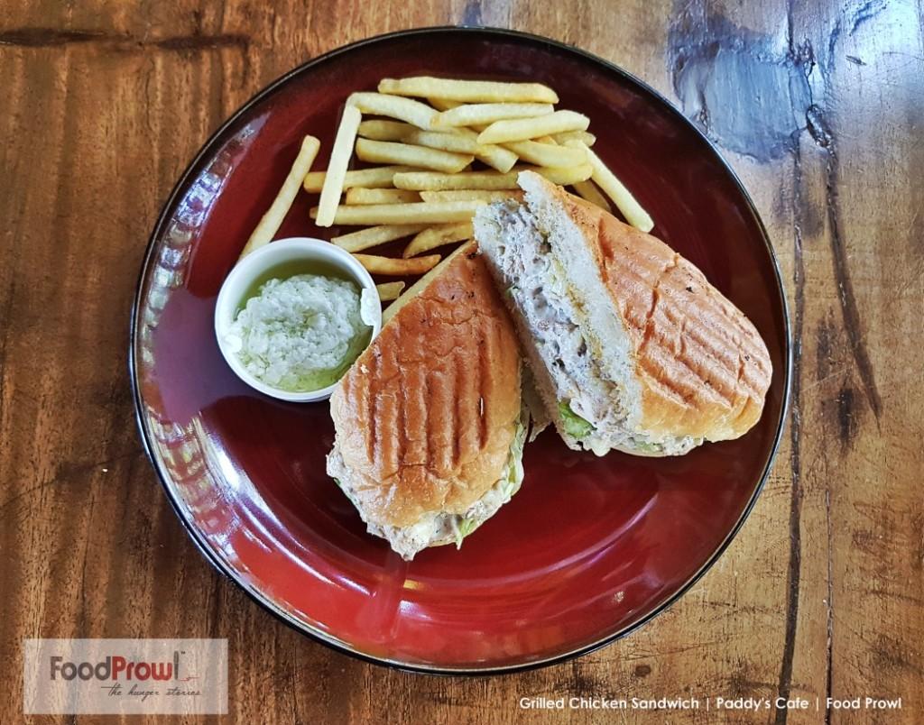 13-Grilled Chicken Sandwich