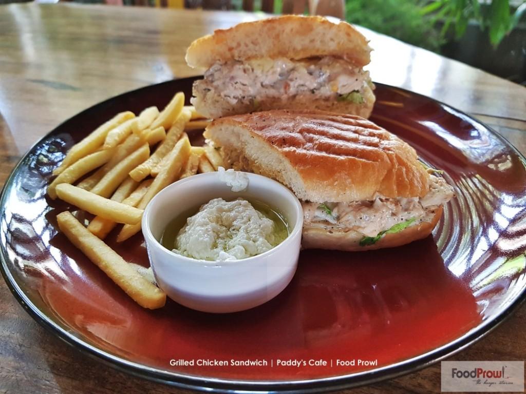 14-Grilled Chicken Sandwich