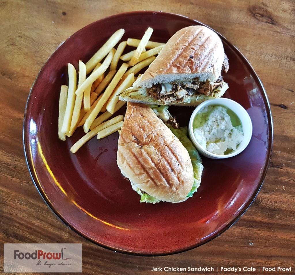 15-Jerk Chicken Sandwich
