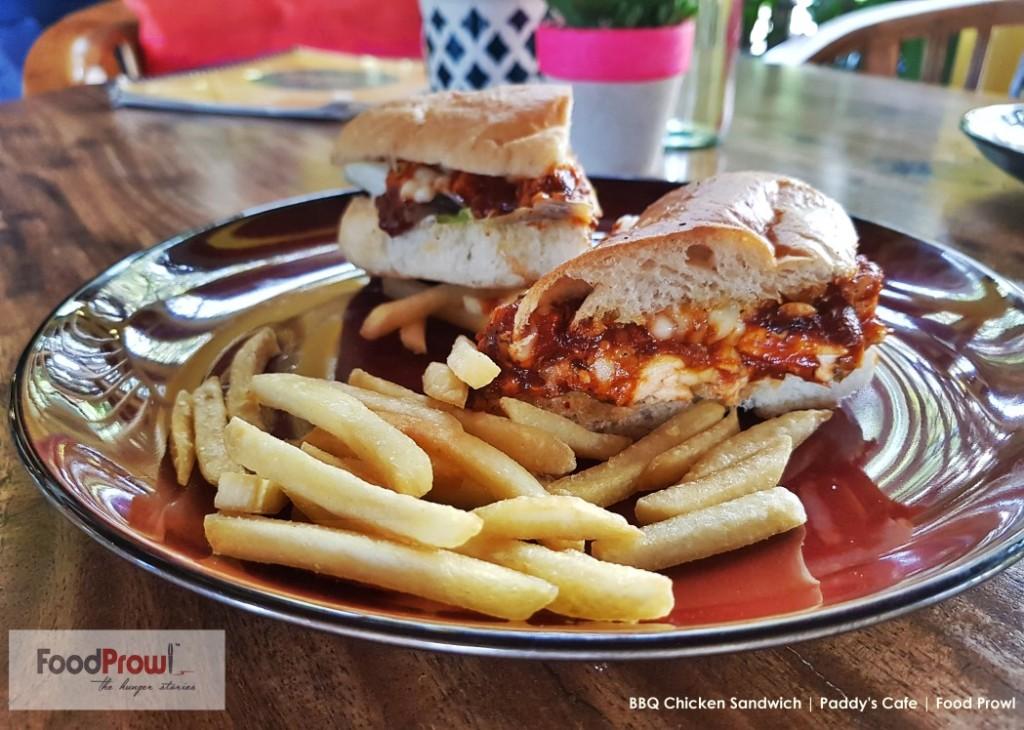 18-BBQ Chicken Sandwich