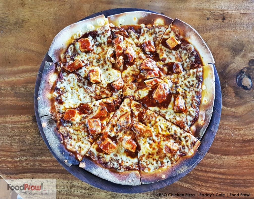 6-BBQ Chicken Pizza
