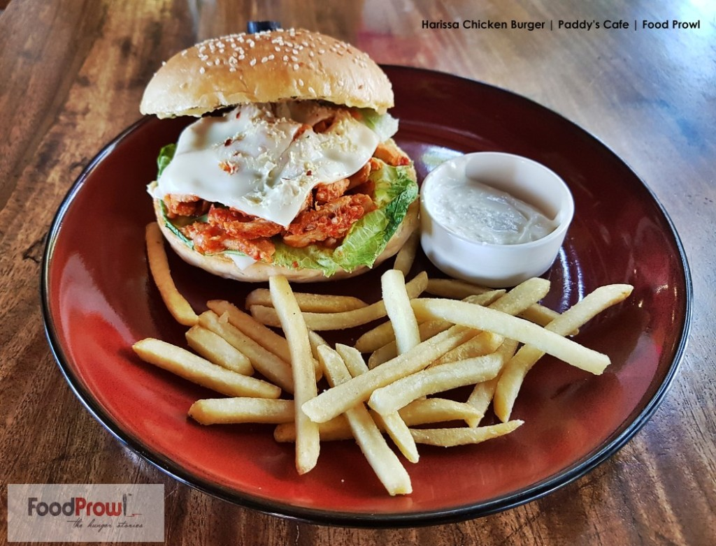 9-Harissa Chicken Burger