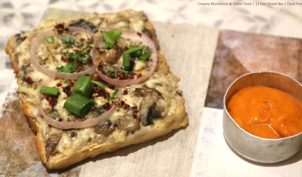 15. Mushroom Toast