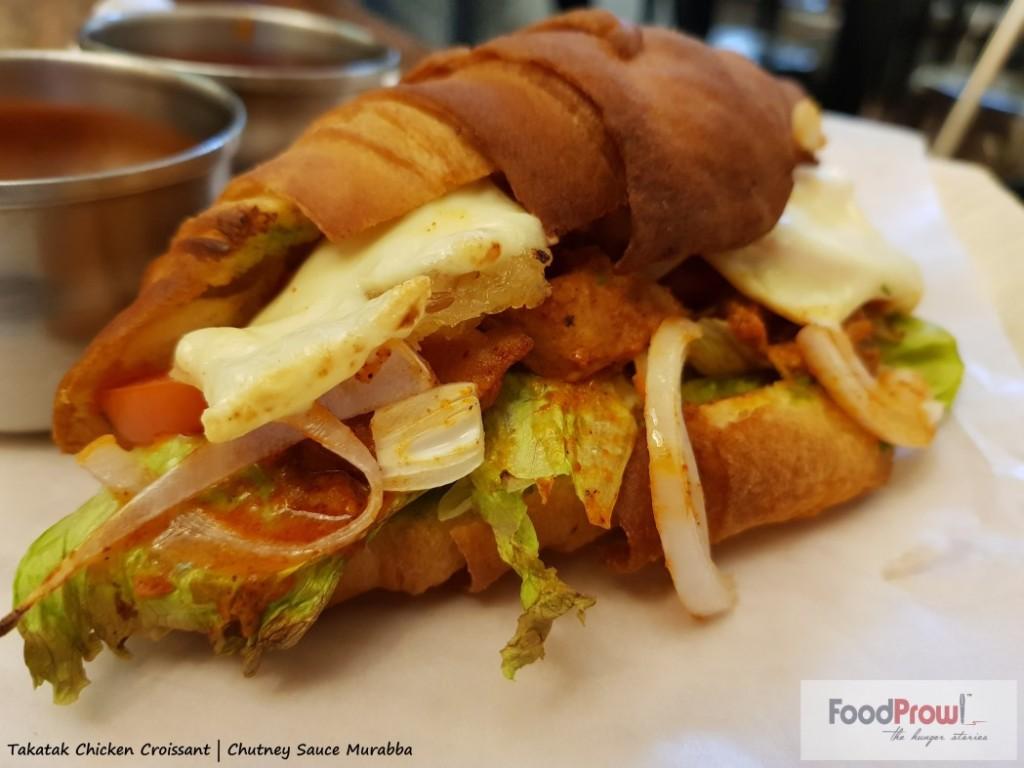 12 - Takatak chicken Croissant
