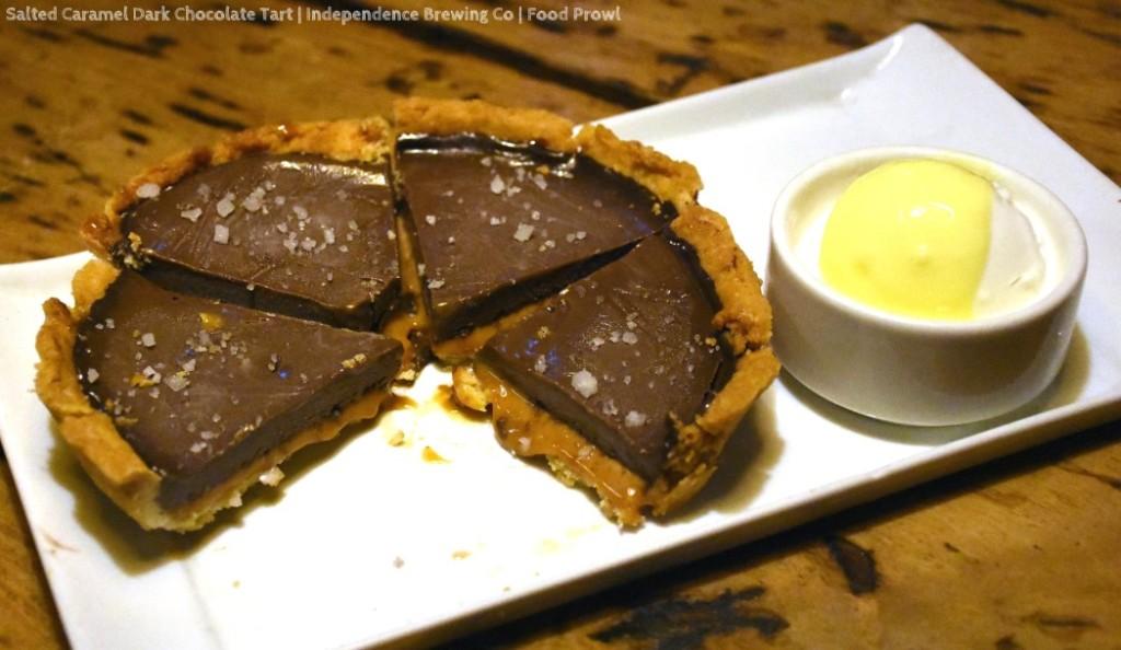 22. CHocolate Tart