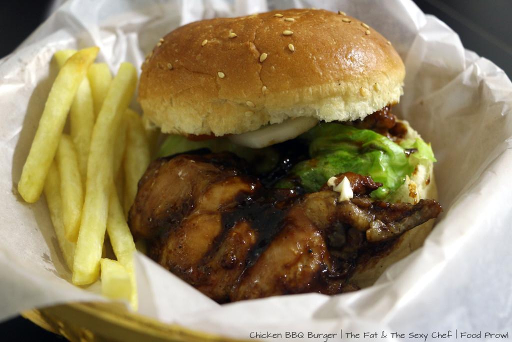 Chicken BBQ Burger
