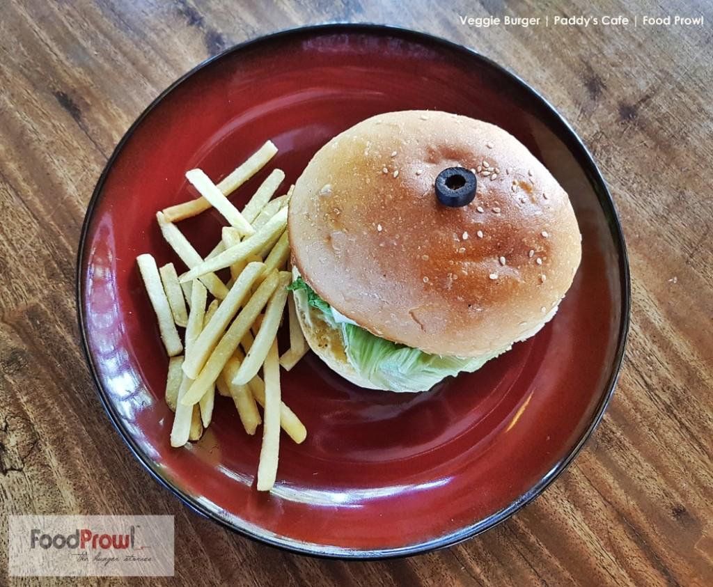 10-Veggie Burger