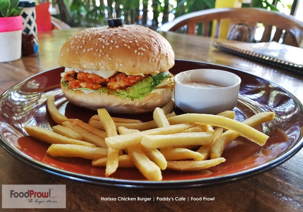 8-Harissa Chicken Burger