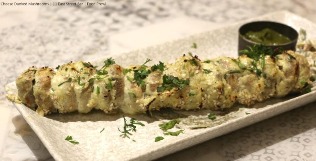 09. Cheese Mushrooms