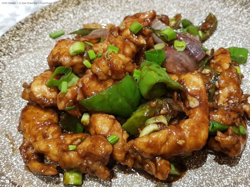 10. Chilli Chicken
