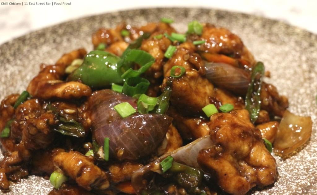 11. Chilli Chicken