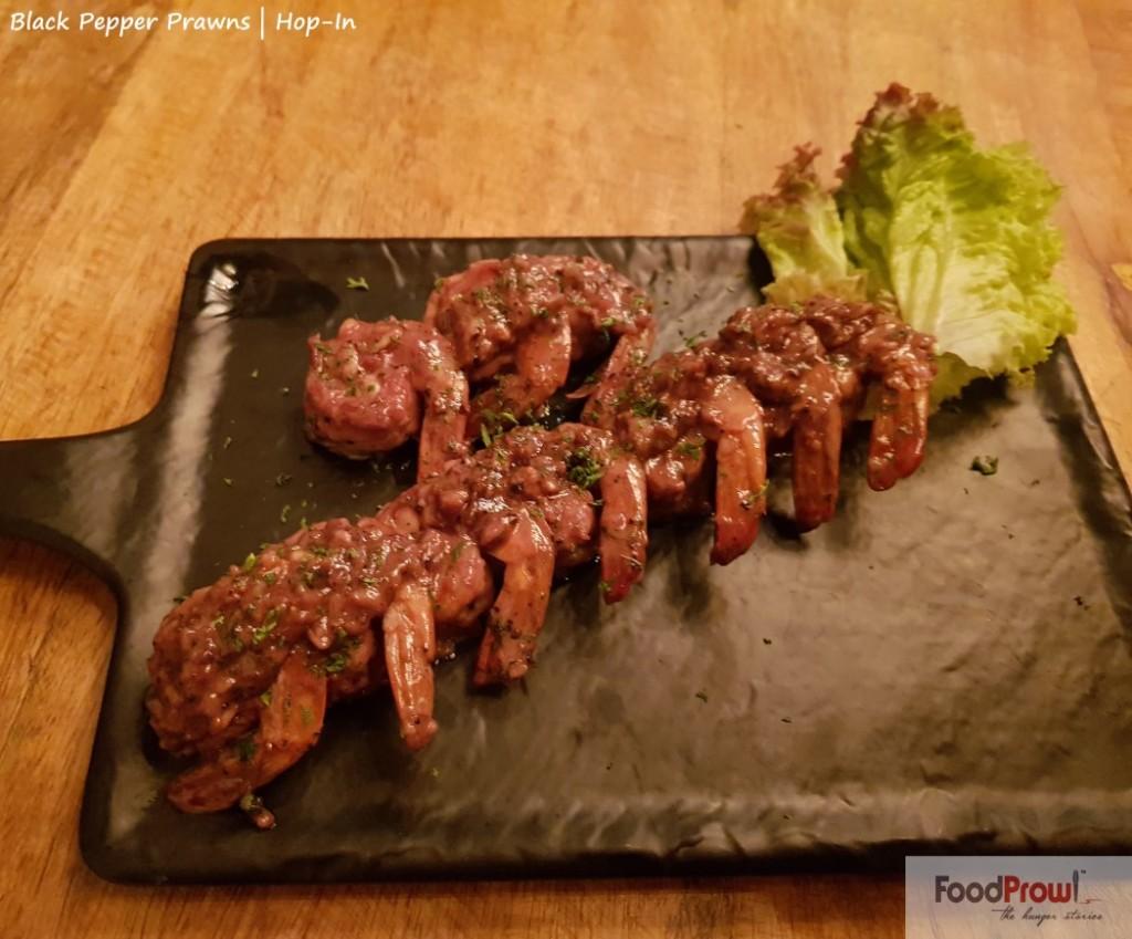 17-Black Pepper Prawns