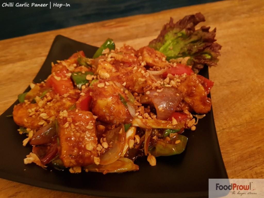 9-Chilli Garlic Paneer