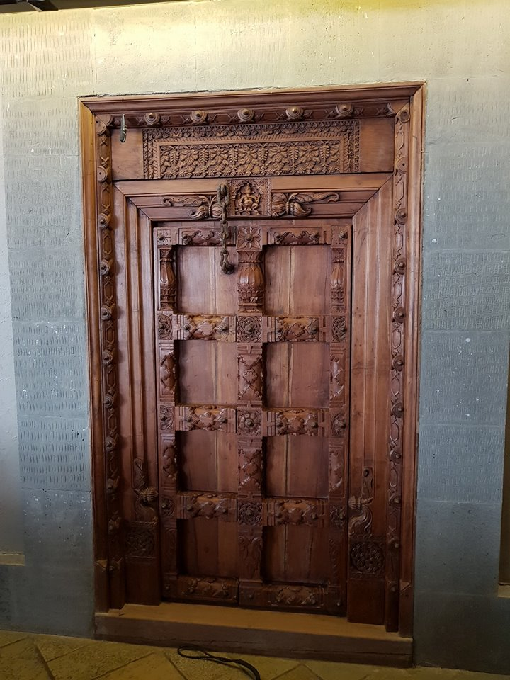 125 Years Old Door purchased from a Temple  from South India